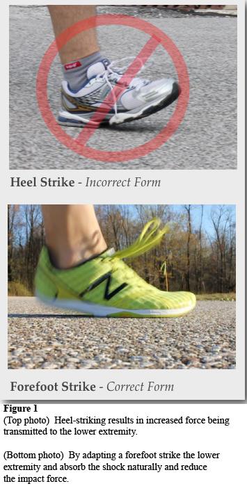 FIGURE 1 Foot Strike